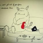 Un mostro sul divano